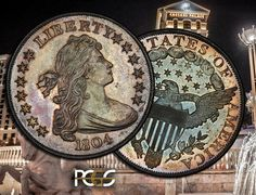 Queen of U. S. Coins: the 1804 silver dollar.....