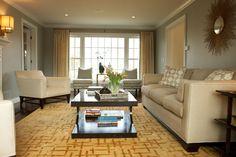 B. Garcia Designs Transitional Living Room