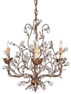 Crystal Bud Chandelier - 3 Light Chandelier, Lighting, Home Decor | Soft Surroundings