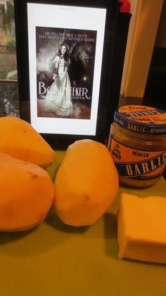 """#YABookCook with """"Boneseeker"""" by Brynn Chapman, and Snail Potatoes"""