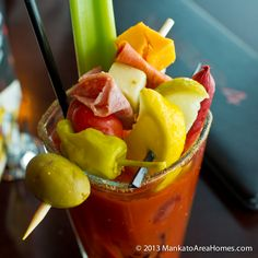 Plan your weekend right with this Clamato Juice Bloody Mary Recipe - a great addition to any brunch | PicklesTravel.com for more recipe ideas