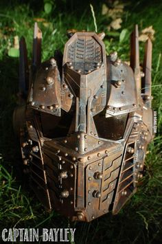 Steampunk Optimus Prime Mask With Voice Changer