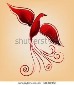 Image result for stylized phoenix