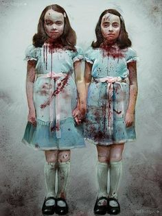 """Play with us Danny.  Forever,...and ever, and ever.""  -  The Shining -These two were the scariest part of the MoviE!!"