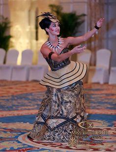 Miss Samoa traditional wear.......