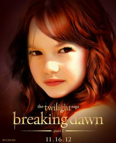Renesmee. Wow, this looks REALLY real!
