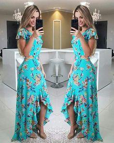 25ac09b81e 77 imágenes increíbles de Vestidos estampados