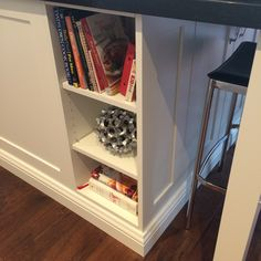 Open Concept, Powder Room, Bookcase, Shelves, Kitchen, Home Decor, Trough Sink, Shelving, Cooking