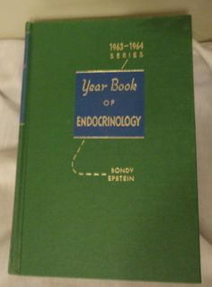 Year Book of Endocrinology 1963-1964 Series Vintage Medical Book by Gilbert S. Gordan/Doctor Books/Medicine/Vintage Collector Books by CoolCoolVintage, $15.00