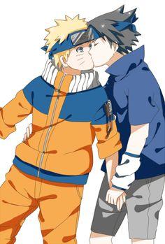 Sasuke stop making Naruto grab ur dick Naruto Vs Sasuke, Itachi Uchiha, Anime Naruto, Naruto Comic, Naruto Cute, Anime Guys, Sasunaru, Narusasu, Couple Naruto