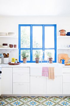 With summer in full swing, adding pops of color and fresh touches to your home is a simple way to fête the season and have your interior reflect the warm weather mood. Here, peruse interior inspiration straight from Pinterest, and ensure that your home makes a stylish statement all summer long.