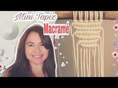 YouTube tutorial de macrame, macrame fácil, como hacer Macrame, dudas sobre macrame, aprender macrame Youtube, Micro Macrame, Mini, Beach, Decor, Tutorials, Craft, Macrame Tutorial, How To Make