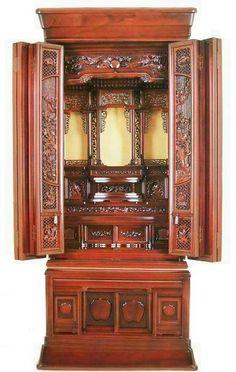 Buddhist altar.  Beautiful piece