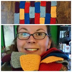 Tinisha had a colorful weekend! She was such a #craftivist that she made 20 bricks! Thanks again! #KnitABrick #GetAnotherHobby
