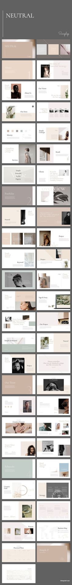 Neutral Keynote Template is a gorgeous presentation to show your project & ideas. This multi-purpose template might help you create effective presentation Portfolio Presentation, Presentation Design, Presentation Templates, Effective Presentation, Presentation Slides, Template Web, Keynote Template, Web Design, Layout Design
