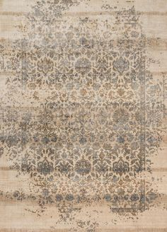 Joanna Gaines' modern take on antique Persian rugs.  Power Loomed Polypropylene | Polyester Egypt
