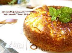 フライパンで簡単!カラメルアップルケーキ by たっきーママさん [クックパッド] 簡単おいしいみんなのレシピが213万品