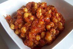 Receta de Garbanzos con tomate
