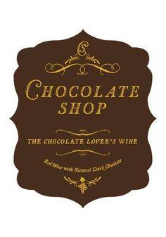 NV Chocolate Shop Chocolate Shop Red 750 mL