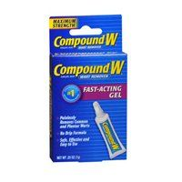Compound W Wart Remover Fast-Acting Gel Mole Removal, Warts, Acting, How To Remove, Personal Care, Exercise Balls, Health, Accessories, Health Care