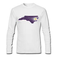 Purple and gold ECU Pirates t-shirt.