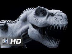 "CGI 3D Tutorial : ""Zbrush: Beginner's Sculpting a T Rex  PART 1"" - by Ed..."