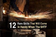 12 Rare Skills That Will Come In Handy When SHTF | Prepper Universe
