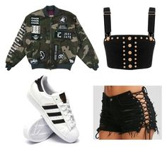 """Rascal"" by mcla9517 on Polyvore featuring adidas"