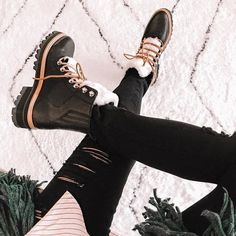 """Marc Fisher LTD on Instagram: """"This sold-out hiker boot is back and in demand [Shoe: Izzie] #MarcFisherLTD #styleMARC // @gypsytan"""" Winter Boots Outfits, Winter Snow Boots, Marc Fisher Boots, Fur Boots, Cold Weather, Iceland, Winter Fashion, Mountain, Clothes For Women"""