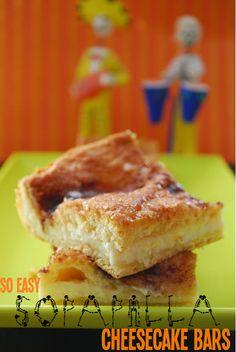 So Easy Sopapilla Cheesecake Bars
