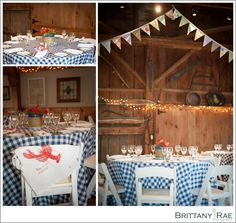 Clarks Cove Farm & Inn, Walpole Maine Rehearsal Dinner, Lobster bake, barn wedding www.BrittanyRaePhotography.com