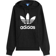 Adidas Originals Printed Wool Hoody ($96) ❤ liked on Polyvore featuring tops, hoodies, black, wool hoodie, hooded sweatshirt, adidas originals hoodie, hoodie top and adidas originals hoodies