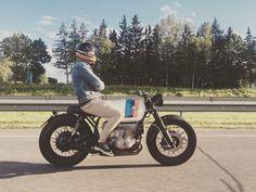 BMW R100 #caferacer discover #motomood