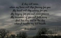 A day will come ...