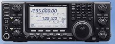 IC-9100  The IC-9100 contains years of advanced Icom technology in a compact, all-in-one HF/VHF/UHF transceiver. This radio covers most ham bands and modes, and provides a wide variety of operating styles. Whether you're working DX QSO, RTTY, D-STAR DV, satellite or even moonbounce, Icom's years of technological experience is working right along with you.