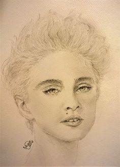 Madonna/pencil drawing