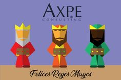 Felicitaciónde Reyes de AXPE Consulting #FelicesReyes #FelicesReyesMagos #ReyesMagos #Reyes2018 #AxpeNavidad #AXPEConsulting