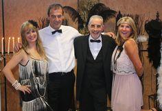 Gilles et Roselyne, Waldette et Gérard!