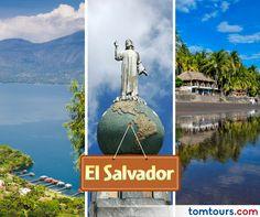 Viaje a #ElSalvador con los mejores aéreos del mercado. No se pierda la oportunidad de vivir este destino encantador! Para más información comuníquese al (212) 947-3131 #Paquetes #SomosLatinoamérica #TomTours
