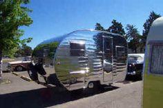 """Remodeled 50's trailers & """"portable"""" houses, Baja's pioneers looking good again!"""