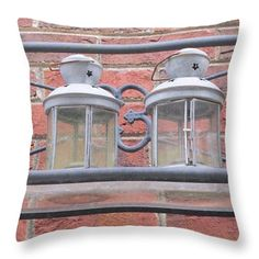 Want to buy this pillow? Click on the title or follow this link:  https://fineartamerica.com/featured/lantern-jars-ali-baucom.html?product=throw-pillow