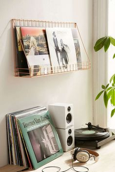 space saving idea to store records