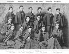 Nurses of the NSW Contingent. Article about nurses in the boer war