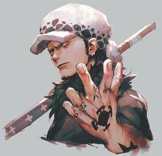 One Piece Comic, One Piece Ace, One Piece Fanart, Otaku Anime, Anime Art, Trafalgar D Water Law, Manga Anime One Piece, One Piece Images, Dragon Ball Gt