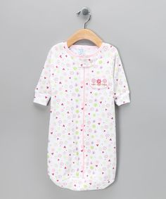 Take a look at this SpaSilk Pink Floral Sleeping Sack on zulily today!