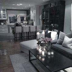 classyinteriors on Somegram Glam Living Room, Living Room Decor Cozy, Elegant Living Room, Home And Living, Living Room Inspiration, House Rooms, Apartment Living, Living Room Designs, Home Decor