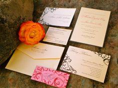 Invitation Suites Wedding Invitations Photos on WeddingWire