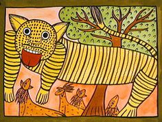 Folk Painting from India Paintings and Scrolls by the Chitrakars of West Bengal Bengali Art, India Painting, India Design, Indian Folk Art, Cultural Studies, India Art, Indian Festivals, Animal Design, Animal Paintings