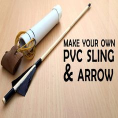 How to make a Crossbow - Homemade PVC Crossbow Survival Life Hacks, Survival Weapons, Survival Tools, Survival Prepping, Survival Rifle, Tactical Survival, Survival Quotes, Urban Survival, Wilderness Survival