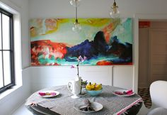 Look Linger Love: The Banquette Is Set! Finally.